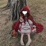 Annie Parcel ~Forest Little Red Riding Hood Lolita OP