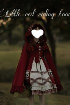 Annie Parcel ~Little Red Riding Hood Vintage Lolita Cape