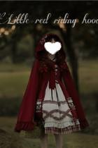 Annie Parcel =Little Red Riding Hood Vintage Lolita Cape