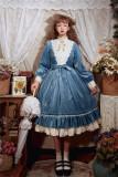 Rose Humanoid~ Velvet Vintage Classic Lolita OP -Pre-order