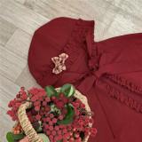 Annie Parcel ~Berry Maiden~Little Red Riding Hood Lolita Cape/Apron/ Accessories