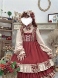 Annie Parcel ~Berry Maiden~Little Red Riding Hood Lolita OP