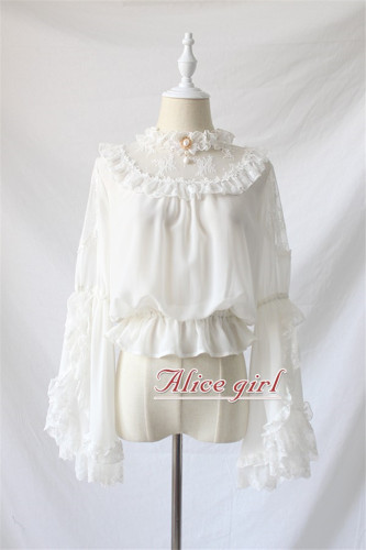 Alice Girl ~ Chiffon Lolita Blouse-Pre-order