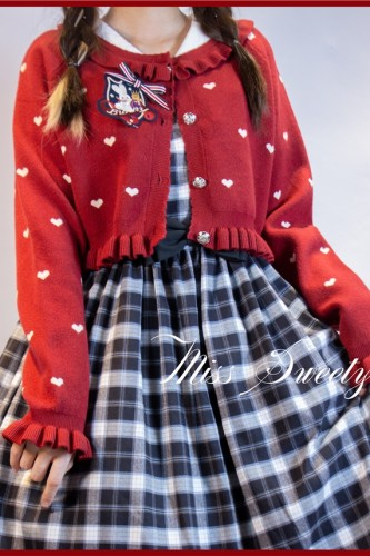 Yuki's Music Box~Sweet Lolita Cardigan/ Vest