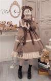 Annie Parcel ~Caramel Teddy Bear Lolita OP