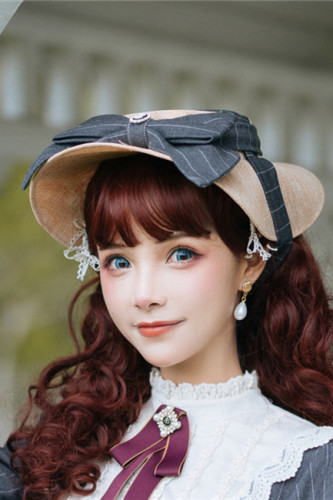 Rose Humanoid~ Lolita Hat -Ready Made