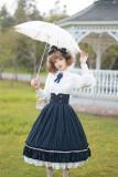 Rose Humanoid~ Vintage Lolita Blouse -Ready Made