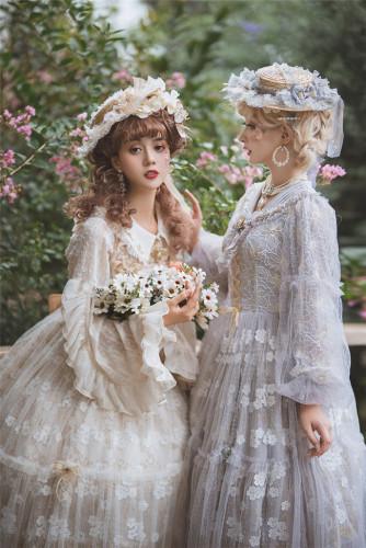 Fantastic Wind ~Among the Flowers~ Lolita JSK/ OP-Pre-order