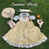 Annie Parcel ~Summer Picnic Lolita JSK