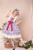Annie Parcel ~Strawberry Milk Jug Lolita JSK