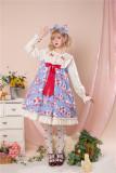 Annie Parcel ~Strawberry Milk Jug Lolita OP
