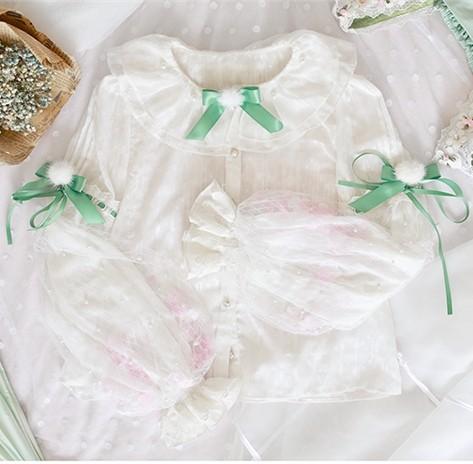 Memories of Dandelion~Lolita Blouse-Pre-order