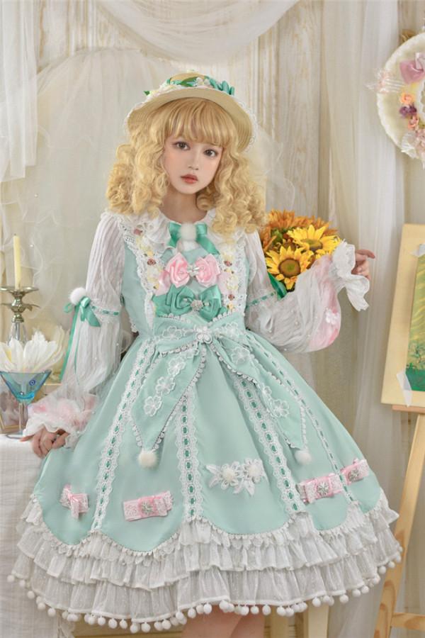 Memories of Dandelion ~Lolita JSK -Ready Made