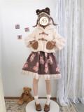 Alice Girl ~Jelly Bear Winter Lolita Coat -Pre-order
