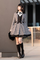 ZERO Vintage Maiden Winter Lolita Set -In Stock