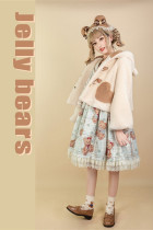 Alice Girl ~Jelly Bear Winter Lolita Coat -Pre-order