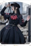Ying Luo Fu~Execution Officer~ Lolita Top+ Skirt Set-Pre-order