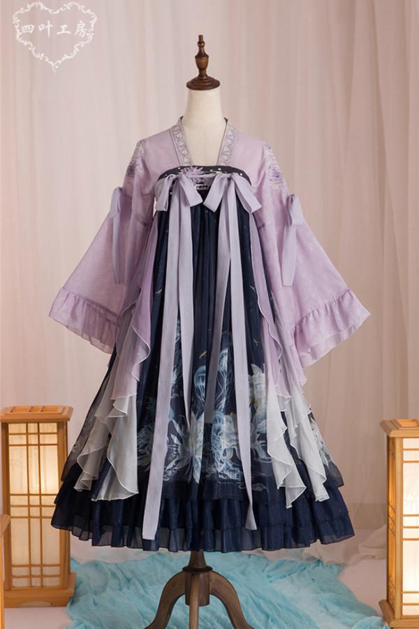 Epiphyllum Jellyfish Qi Lolita Dress 2020 Version -Pre-order