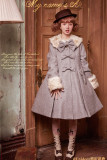 Sweet A-shaped Lolita Long Coat - Green S In Stock