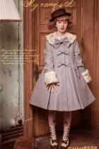 Sweet A-shaped Lolita Long Coat - Green S In Stock