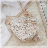 Repair of Love/Star~ Sweet Lolita Fur Hand Bag/Cross-body Bag -Ready Made