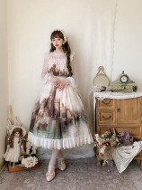 Cheese Cocoa ~Twilight Lolita JSK-Ready made