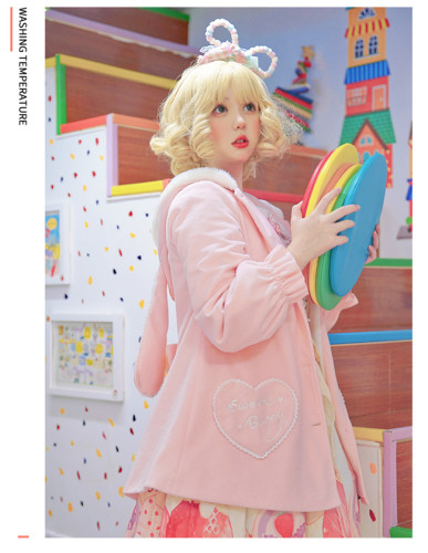 Bunny Student Girl~ Lolita Autumn&Winter Coat