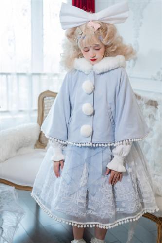 To Alice~ Doll Paradise~Bear Flocking Lolita JSK/JSK Set -Pre-order