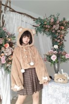 To Alice~ Lolita Cute Bear Short Coat -Pre-order