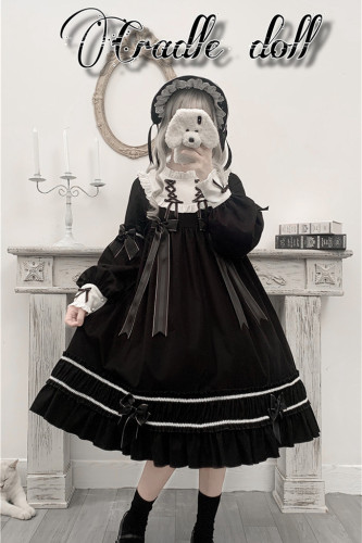 Annie Parcel ~Cradle Doll Lolita OP Size S - In Stock