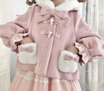 Alice girl Soft Candy Rabbit Sweet Lolita Short Coat -Pre-order