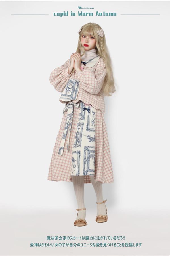 Magic Tea Party ~Cupid In Warm Autumn Lolita Set -Pre-order