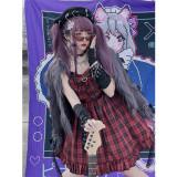 Diamond Honey ~Pink Hot Girl Rock Singer~ Lolita Autumn and Winter Inner JSK