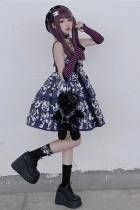 Diamond Honey ~Zombie Dying Bear~ Lolita Autumn and Winter Inner JSK