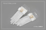 Sweet Dreamer Pearl Lace Lolita Gloves