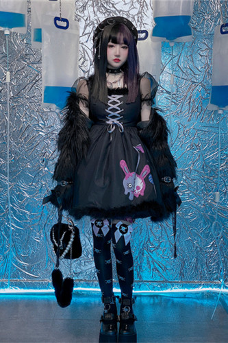 Diamond Honey ~Devil Sweet Cool Zombie Cherry~ Lolita OP/Coat