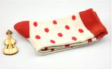 Sheep Puff~ Polka Dot Cute All-match Japanese Lolita Cotton Socks