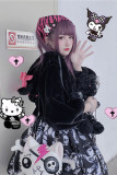 Diamond Honey ~Zombie Dying Bear~ Lolita Autumn and Winter Coat/JSK