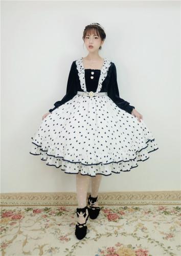 Little Dipper ~Elegant Velvet Lolita OP -Pre-order