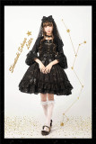 The Whisper of Stars~ Gold Stamping Constellation Lolita Normal JSK /OP - In Stock