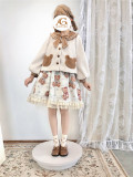 Alice girl ~Little Bear Sweet Lolita Short Coat -Pre-order