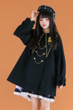 Withpuji  Fantasia College Style Cotton-padded Lolita Coat -Pre-order