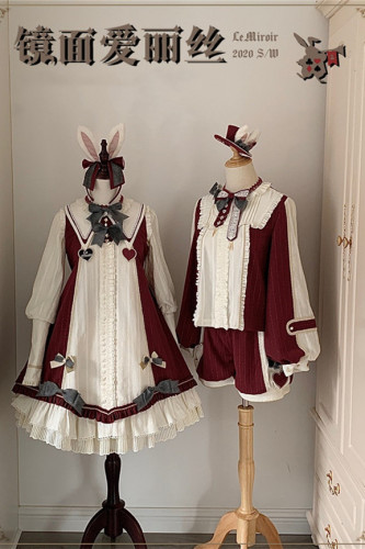 Alice In the Mirror ~Lolita Long Sleeves OP -In Stock