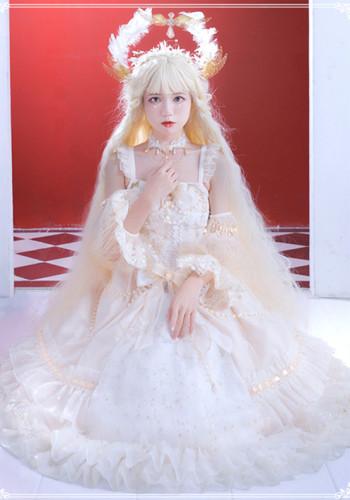 The Starry Night ~Vintage Elegant Lolita JSK Fullset -Pre-order