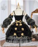 Golden Lily Vintage Elegant Lolita JSK -Pre-order