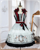 Sparrow In The Mirror Vintage Long Sleeves Lolita OP -Pre-order