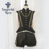 An Immortal Engagement Invitation Ouji Lolita Set(Vest + Blouse + Short Pants) -Ready Made