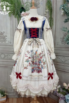 Miss Point ~The Song of Harvest Vintage Corset Lolita JSK -Pre-order