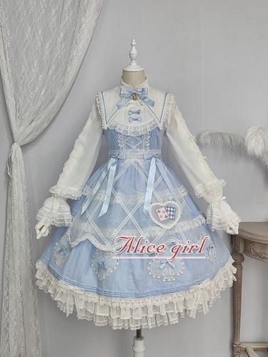 Alice Girl ~Alice~ Lace Bow Lolita JSK -Pre-order