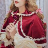 Miss Point ~The Song of Harvest Velvet Lolita Cape -Pre-order